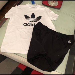 Adidas skirt set